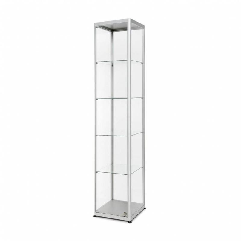Skleněná produktová vitrína VR2 - 400x2000x400mm