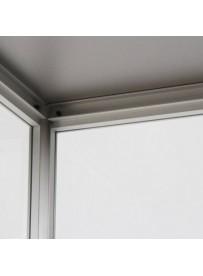 Skleněná produktová vitrína 400x1984x400mm