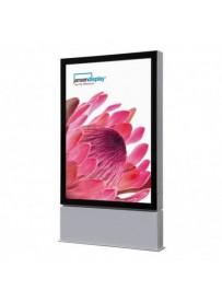 Venkovní obustranná prémiová vitrína na plakát 1185x1750mm