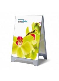 T-frame reklamní áčko, formát 700x1000 mm