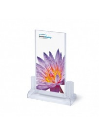 SCRITTO Plastový menu stojánek 10x20mm pro příslušenství