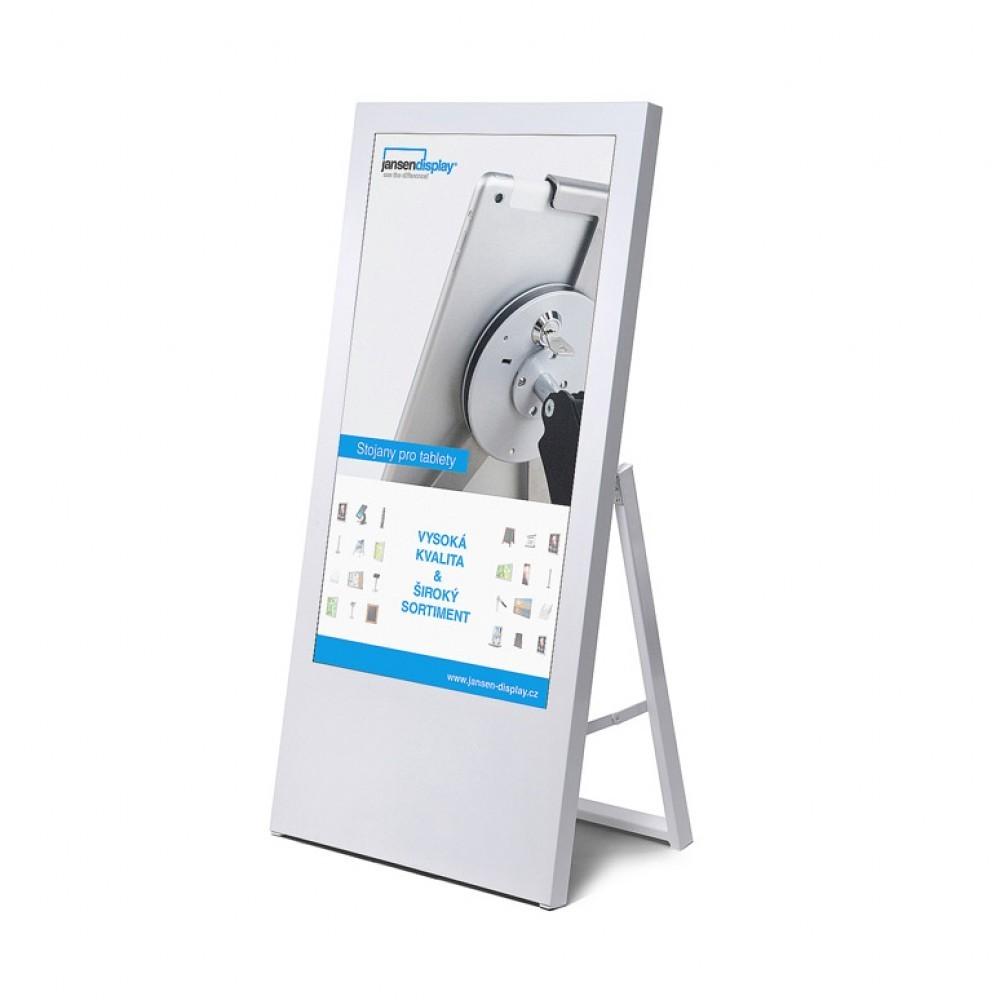 """Jansen Display Digitální áčko ekonomické s monitorem Samsung 43"""", bílé"""