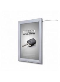 Venkovní světelná LED vitrína typu T, pro plakáty formátu 500x700mm