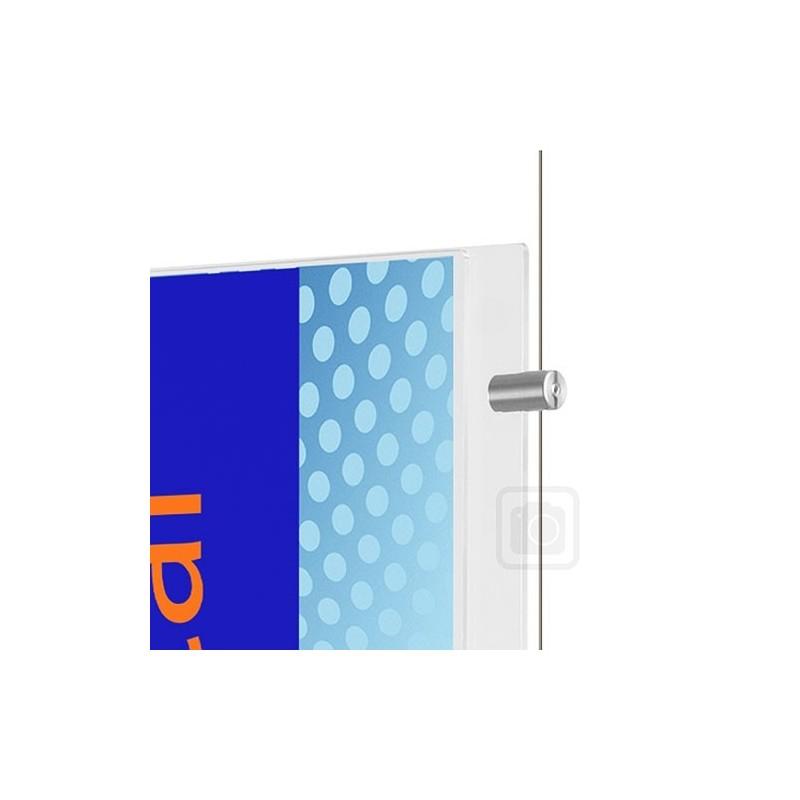 Boční úchyt pro panely do 4 mm Appendo Pro Cable