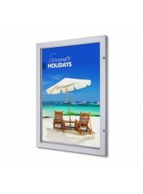 Uzamykatelný plakátový rám Premium 700x100 mm