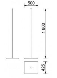 Multistand samostatná stojina