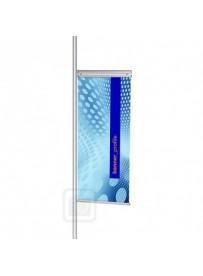 Banner profil 420 mm včetné úchytů
