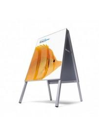 Nasouvací reklamní áčko, formát 500x700mm