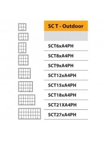 Venkovní vitrína SC T 6xA4