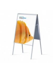 Interiérové reklamní áčko 700x1000mm, ostrý roh, profil 20mm