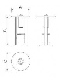 Kuřácký stolek SMT