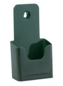 Stojánek na letáky formátu DL (1/3A4), zelený