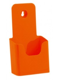 Stojánek na letáky formátu DL (1/3A4), oranžový