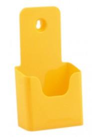 Stojánek na letáky formátu DL (1/3A4), žlutý