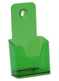 Stojánek na letáky formátu DL (1/3A4), neon zelený