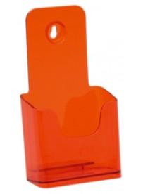 Stojánek na letáky formátu DL (1/3A4), neon oranžový