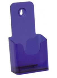 Stojánek na letáky formátu DL (1/3A4), neon fialový