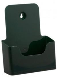 Stojánek na letáky formátu A5, zelený