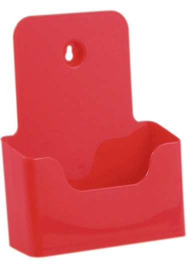 Jansen Display Stojánek na letáky formátu A5, červený