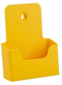 Stojánek na letáky formátu A5, žlutý