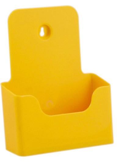 Jansen Display Stojánek na letáky formátu A5, žlutý