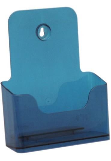 Jansen Display Stojánek na letáky formátu A5, neon modrý