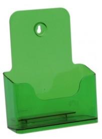 Stojánek na letáky formátu A5, neon zelený