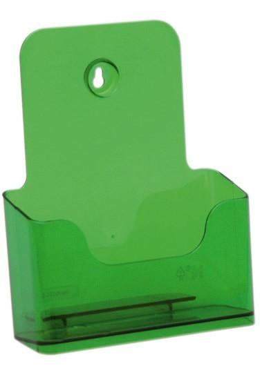 Jansen Display Stojánek na letáky formátu A5, neon zelený