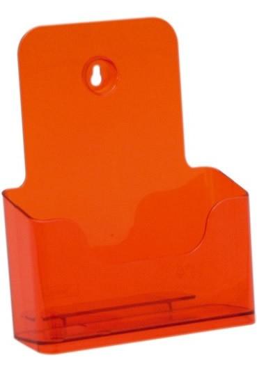 Jansen Display Stojánek na letáky formátu A5, neon oranžový