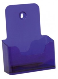 Stojánek na letáky formátu A5, neon fialový