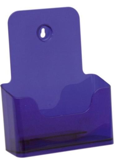 Jansen Display Stojánek na letáky formátu A5, neon fialový