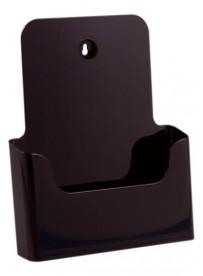 Stojánek na letáky formátu A4, černý