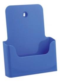 Stojánek na letáky formátu A4, modrý