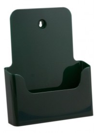 Stojánek na letáky formátu A4, zelený