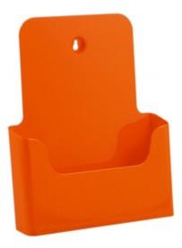 Stojánek na letáky formátu A4, oranžový