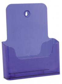 Stojánek na letáky formátu A4, neon fialový