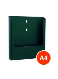 Nástěnný zásobník na letáky formátu A4, zelený