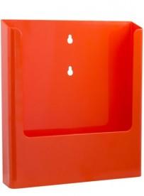 Nástěnný zásobník na letáky formátu A4, oranžový