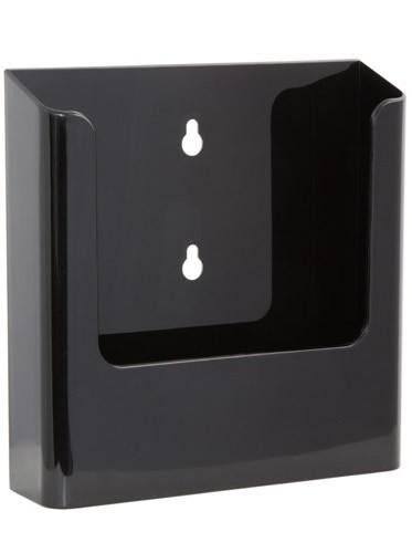 Jansen Display Nástěnný zásobník na letáky formátu A5, černý