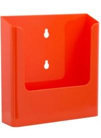 Nástěnný zásobník na letáky formátu A5, oranžový