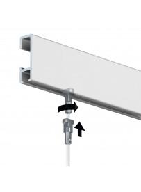 Nástěnný závěsný systém CR 1500 mm, barva ELOX