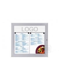 Venkovní menu vitrína 1xA4
