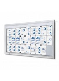 Venkovní vitrína SC T 27xA4, LED podsvícení