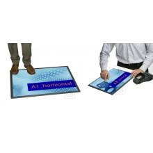 Podlahové a pultové plakátové systémy